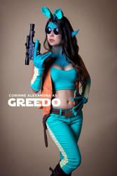 Girl Greedo Cosplay by stuckwithpins