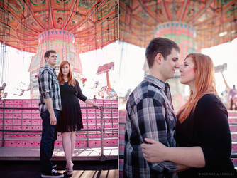 Hollyanne and Chris Engagement 02 by stuckwithpins