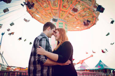 Hollyanne and Chris Engagement 03 by stuckwithpins