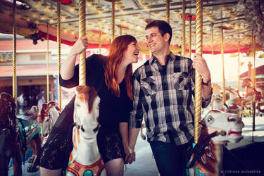 Hollyanne and Chris Engagement 04 by stuckwithpins