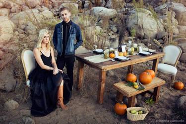 Til Death Do Us Part - Halloween Bridal 01 by stuckwithpins