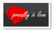 Proudly In Love Stamp by Zero-Naraku