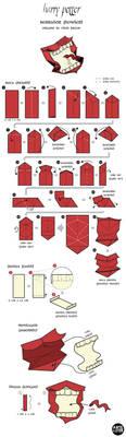 Origami Design - Howler by vitorbravin