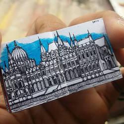 XOVOVIC custome made tiny mini doodle book day11 by xovovic