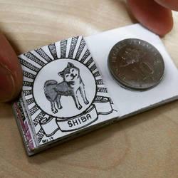 XOVOVIC custome made tiny mini doodle book day19 by xovovic