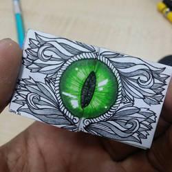 XOVOVIC custome made tiny mini doodle book day21 by xovovic