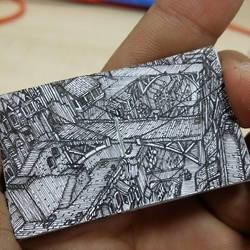 XOVOVIC custome made tiny mini doodle book day25 by xovovic