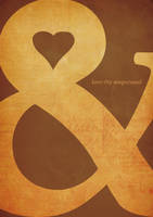 love thy ampersand by lasithsangel