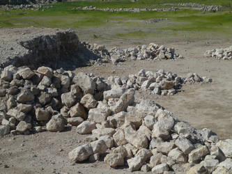 Blocks of limestone by Nekromaster