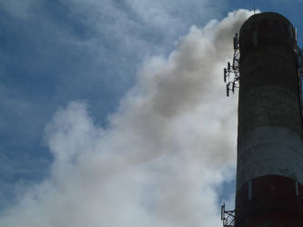Factory chimney. by Nekromaster