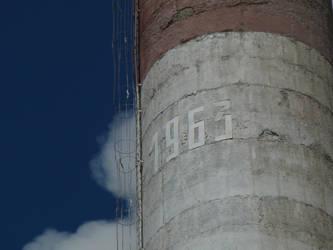 Soviet factory chimney. by Nekromaster