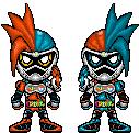 Kamen Rider Ex-Aid LV.XX Double Action Gamer by YuusukeOnodera