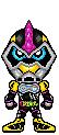 Kamen Rider Lazer Turbo Bike Gamer Lv.0 by YuusukeOnodera