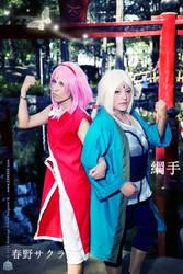 Sakura Haruno y Tsunade COSPLAY by FanychanCosplay