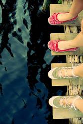 footsteps on the dance floor by kishui
