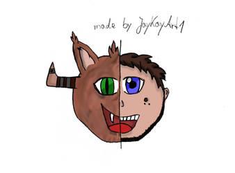 HalfHalf by JayKayArt1