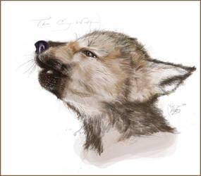 A Grey Wolf by keikeila