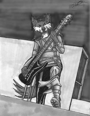 Rockin' Out by pezwolf