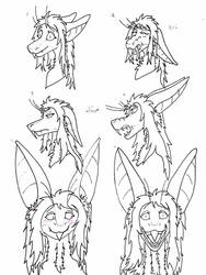 100 Faces Challange 1 - 6 by pezwolf