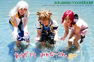 KH2: Waterish Fun by christie-cosplay