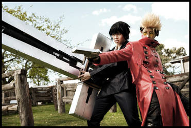 Trigun: A-team by christie-cosplay