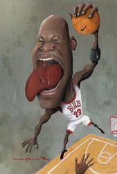 MJ by waldomatus