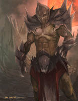 Grimwald, Bane of Agatys by TSRodriguez