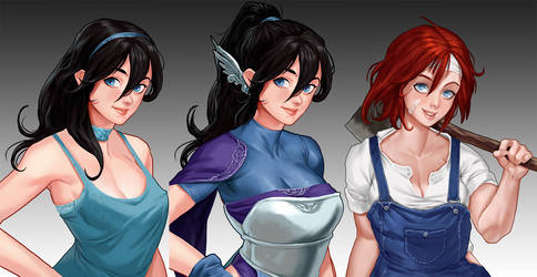 Eroquest! - Demo Characters by TSRodriguez