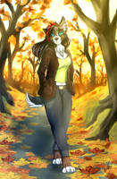 Autumn trail by WolFirry