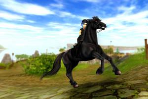 Back to saddle by Jatatorr