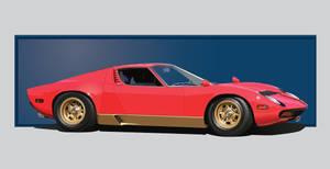 Lamborghini Miura by Rikko40