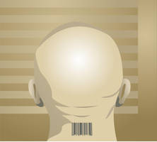 Barcoded Man by Rikko40