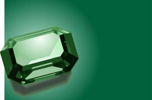 Sparkling green emerald by Rikko40