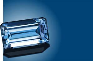Sparkling blue sapphire by Rikko40