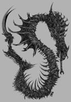Snake Alien by X-RaD