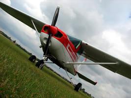 Cessna 152 SP-KIS by QmP3L