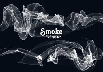 20 Smoke PS Brushes abr. Vol.10 by fhfgdjjkhjkj