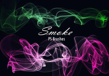 20 Smoke PS Brushes abr. Vol.11 by fhfgdjjkhjkj