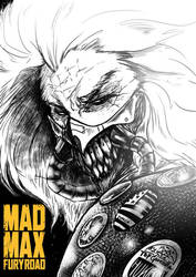[FanArt] MadMax Fury Road - Immortal jo by TopGodzilla