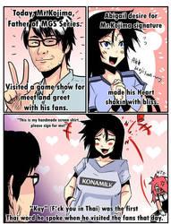 [Repost] Abigail and Kojima-san by TopGodzilla
