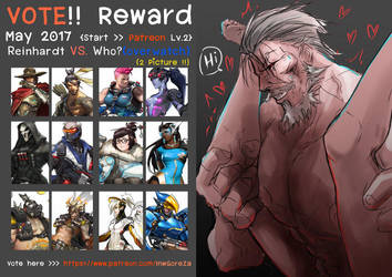 [Vote my Patreon  Reward May 2017] by TopGodzilla