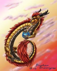 Eastern Dragon by Draconigenae666