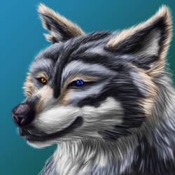 Wolfy Edolon Avatar by Draconigenae666