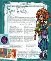 EverAfterHigh Bio Box YARA LANTIS by Yaraffinity