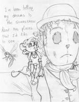 TGMD - Scarecrow - sketch by Yaraffinity