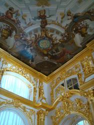 Ceiling detail, Tsarskoye Selo by Perosha