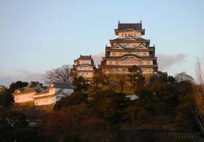 Himeji Sunset by stevezpj
