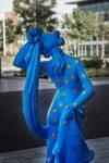 Blue Lady 01 by stevezpj