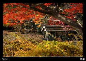 Kyoto Boathouse by stevezpj