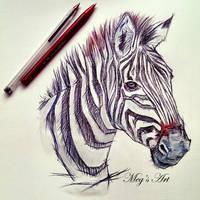 Zebra by stardust12345